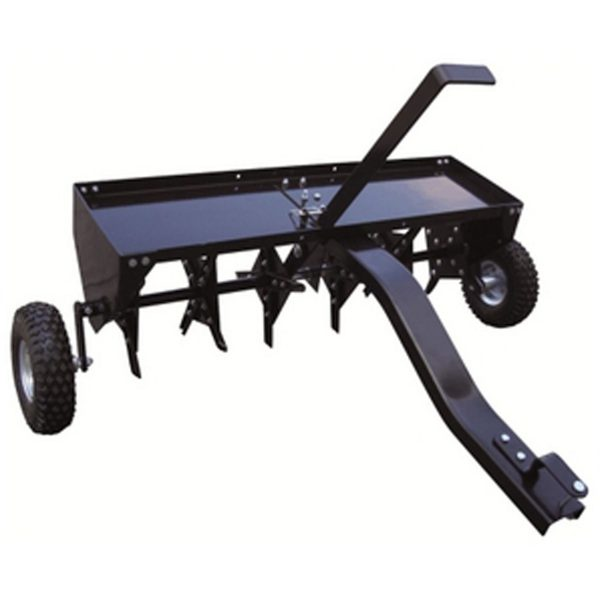 """Gardencare 102cm/40"""" Trailed Plug Aerator-0"""