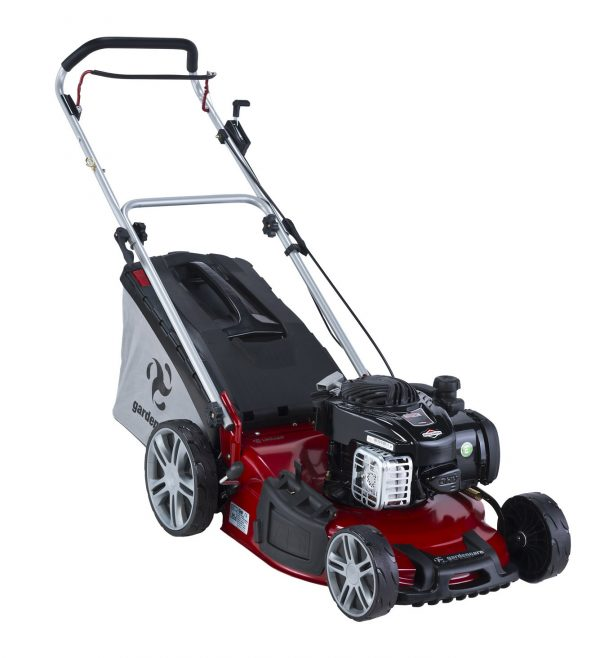 "GARDENCARE LMX46P 46cm (18"") 140CC 2IN1 SELF PROPELLED LAWN MOWER-0"