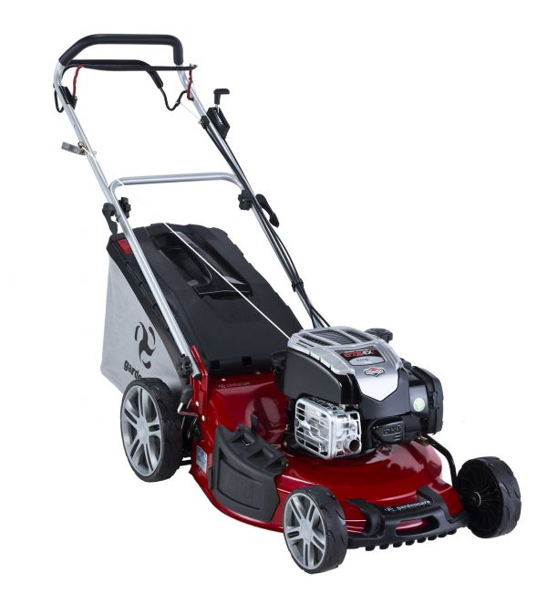 "GARDENCARE LMX51SP 51cm (20"") 'TO THE EDGE' 3-in-1 SELF PROPELLED LAWN MOWER-0"